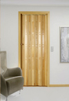 Folding door, varnished, TD - all wood