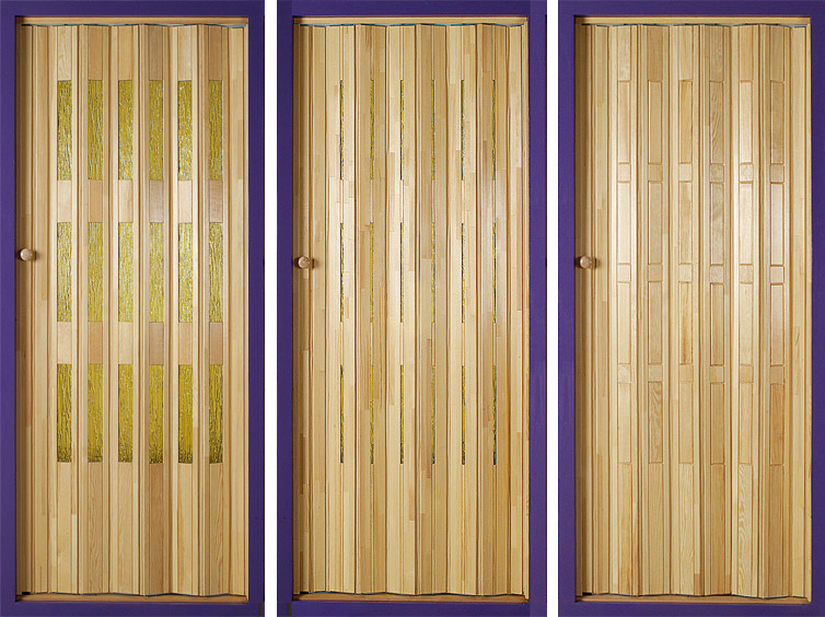 Wooden Accordion Doors : Folding doors accordion uk